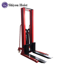 Small hand cart wheels pallet jack casters hydraulic material handling equipment 5 ton forklift