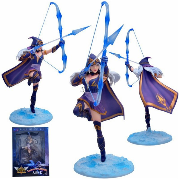 (Hot selling)League of Legends figure toy hot game League of Legends figure doll toys LOL Statue PVC action figure
