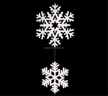 SNOWFLAKE Hanging Decorations Christmas Tree Hangers