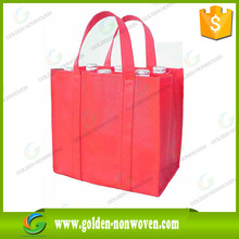 handle tnt bag 2015 new design logo print nonwoven bag