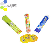 Pre Cut Printed Heat Sealing Squeeze Tube Foil Lids