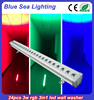 Best Factory price 24pcs RGB outdoor building led wall washer