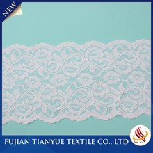 Wholesale Fantastic Design Women Nylon Knitted Grade Triming Lace