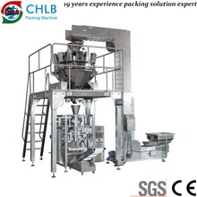 Snack extrusion food packaging machine