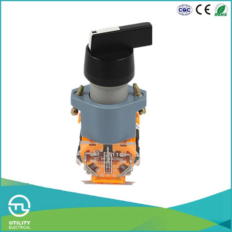 UTL Convenient Installation 2 Position Selector Explosion Proof Push Button Reset Switch 660V