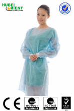PP+PE disposable Isolation Gown/Surgical Gown