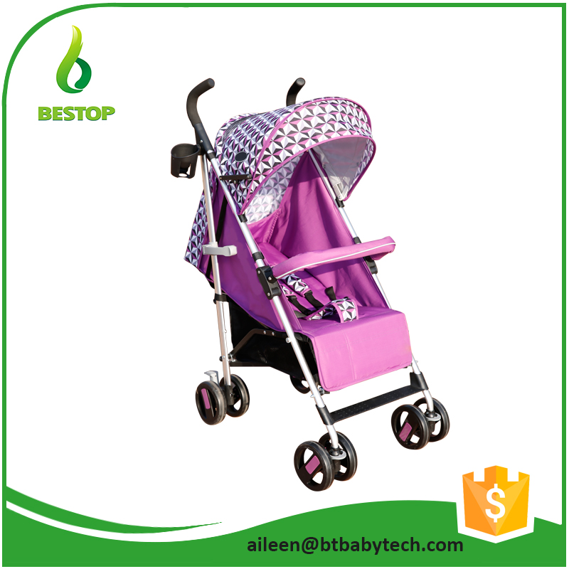 High landscape wheels with orientation baby throne lightweight baby stroller