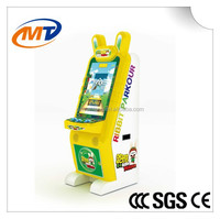 Rabbit Parkour-Coin operated Amusement video parkour game machine redemption arcade game machine for sale