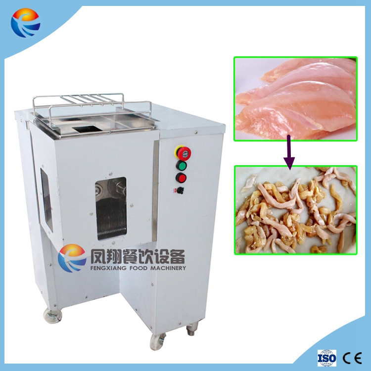 Automatic Industrial Fresh Chicken Goat Meat Cutting Machine