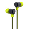 2017 New Products Plastic Colorful Earphones