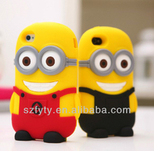 2014 latest design silicone cartoon phone case for iphone5