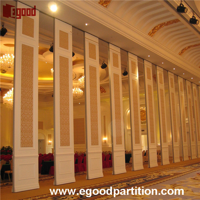 Exhibition lobby hall movable partition for large room divider