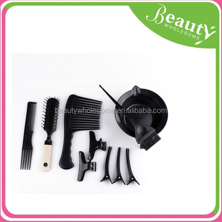 Hot 19 Professional hair coloring brush and bowl set/hair coloring tool kit