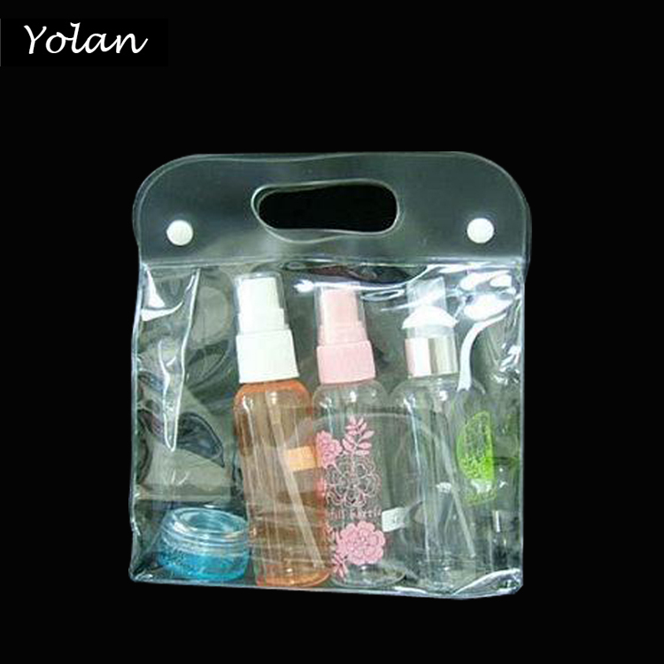 HOT SALE COSMETIC PVC BAG, PLASTIC SHOPPING BAG