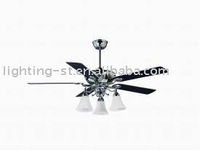 60 inch wooden ceiling fan with light