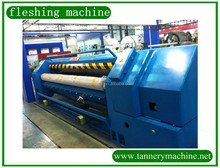 3200mm wet blue leather process fleshing machine