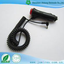 Car Cigarette Lighter Plug With Cable CIGA TO DC Sprial Cable