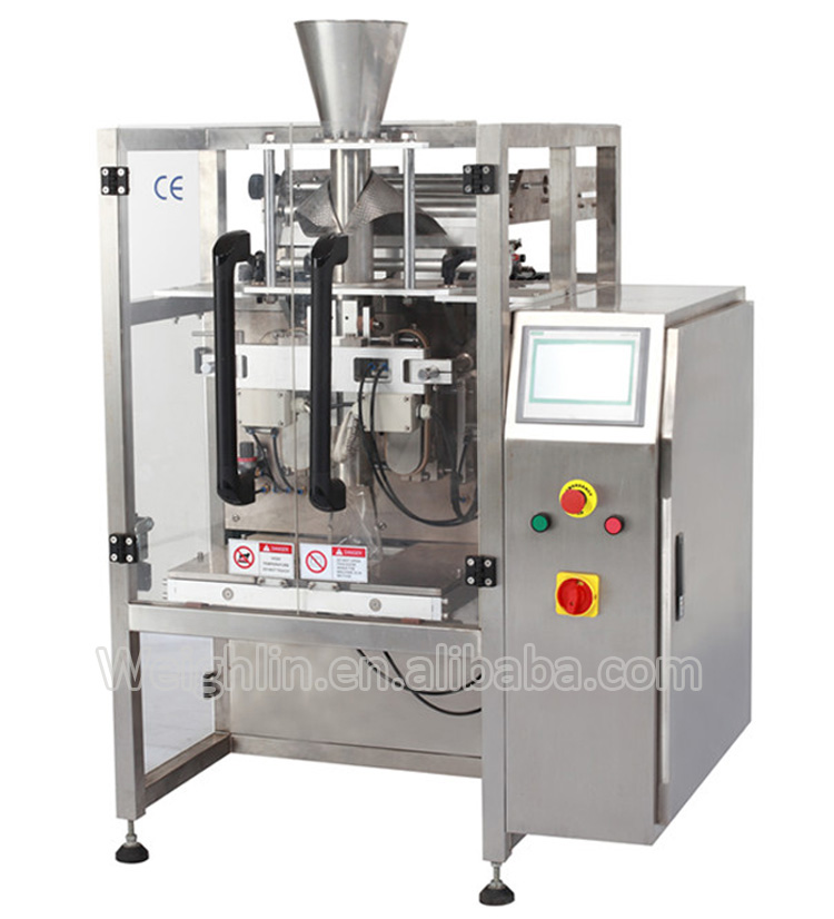 Automatic laminated film or PE former bag maker packaging machine filling packing for powder flour