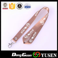 Wholesale Fashion Hot Selling Polyester Customized Free Lanyard Keychain With High Quality