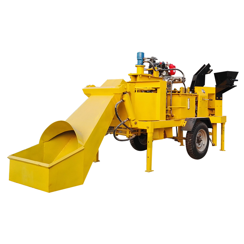Hydroform brick making machine