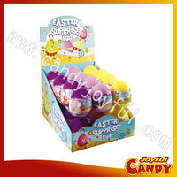 Surprising egg candy toy