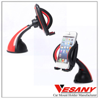 Vesany Best Selling 2016 New Product 360 Rotating New Windshield Cell Phone Holder Car Accessories
