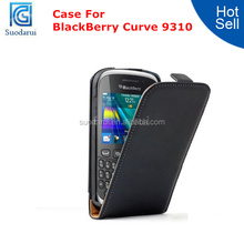 Mix Color Ultra Slim Leather Flip Cover Case for BlackBerry Curve 9310