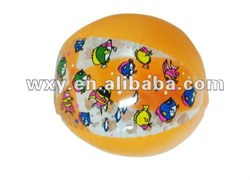 New Style Inflatable PVC Beach Ball,Cartoon Character be Printed,Kids Toys