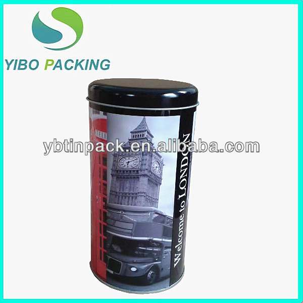 custom made round metal box for gift,OEM service colorful tall gift tins