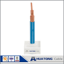 Solar power system 10 mm2 PVC copper electric wire with 450 / 750 V with high quality