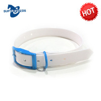 padded leather/TPU/PVC dog collar