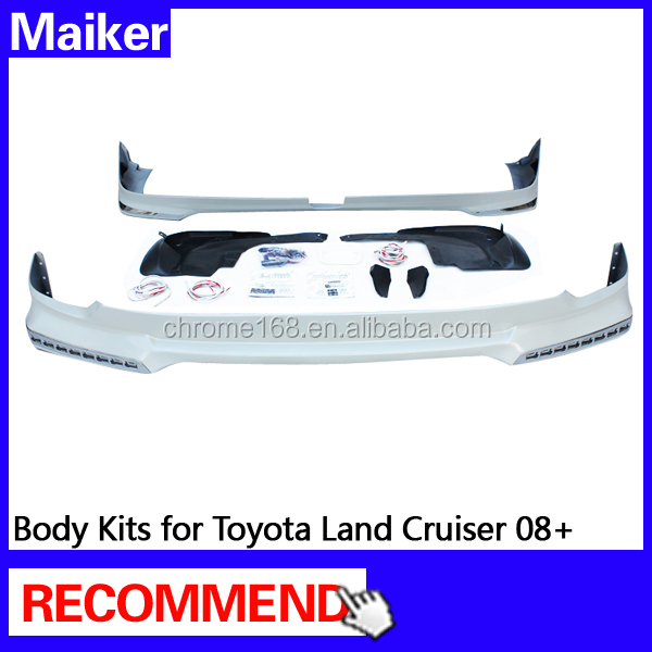 Body Kits for Toyota Land Cruiser 08+ Body Part auto part 4*4 accessories from Maiker