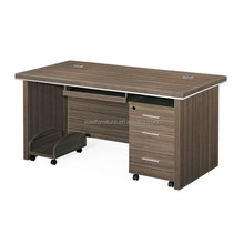 Pictures of office wooden furniture computer table IB012