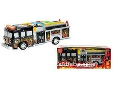 Battery operate universal msical fire truck toy with light
