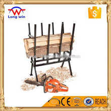 Best quality export heavy duty wood steel saw horse with ratchet strap