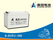 Electric golf carts 12V100Ah / electric car battery/electric vehicle battery