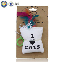 Wholesale Cute Canvas Mouse Shape Cat Toys Plush Pet Toys