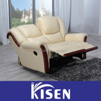 Living room furniture sectional recliner sofa chair from Guangdong
