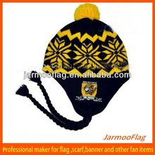 custom beanie hat with ear muff
