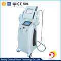 E-light&Bipolar RF&Nd yag laser IPL hair removal machine