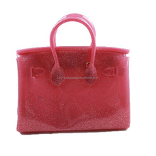 Women Classical style Branded Silicone Handbag 2016