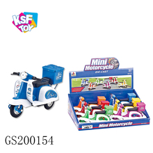 diecast mini metal pull back small toy motorcycles for kids