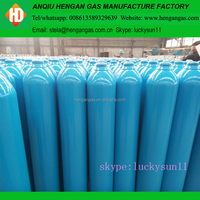 High Pressure 50L 200Bar Welding Argon Bottle Gas Cylinder Prices