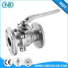 A216 WCB 2PC Class 150LB Float Lever operated 3 inch 4 inch Wrench type Ball valve