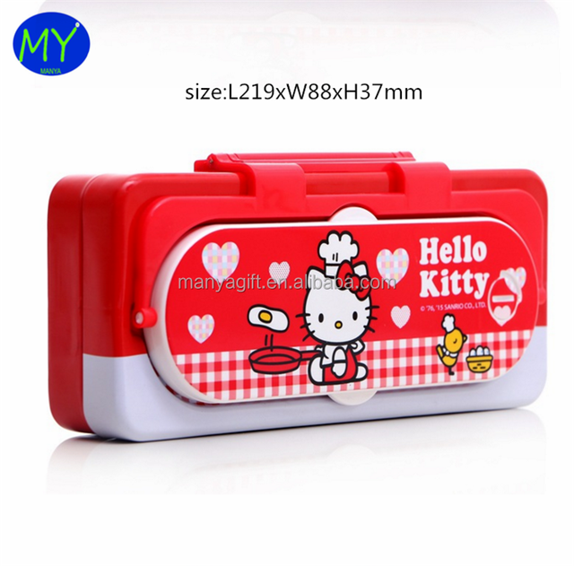 2017 high quality calculator tin pencil case from china supplier