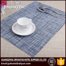 hotel hot sale fabric fashion placemats with inserts