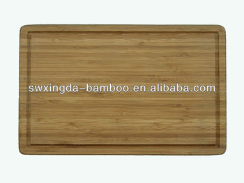 Total Bamboo Cutting Blocks with Groove