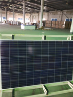 cheapest trasparent thin film crystalline solar power system monocrystalline solar panel 250w poly for pumps car home BIPV
