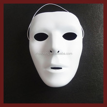 Halloween Decorate scary ghost masks plastic cheap party masks full face party masks white party masks