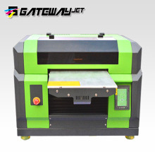 High resolution a3/a4 led uv flatbed printer cell phone case/plastic card/transparent business card printing machine